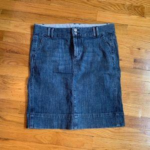 Gap jeans skirt 4